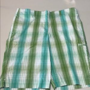 Lady Hagen plaid  shorts 10 EUC